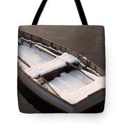 Snow Boat Tote Bag