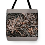 Snow By Gaslight Tote Bag