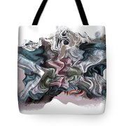 Snow Capped Cloth Tote Bag