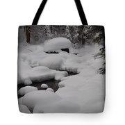 Snow Capret Tote Bag