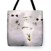Snow Cats Tote Bag