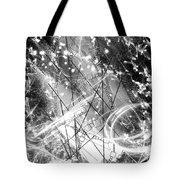 Snow City  Tote Bag