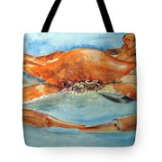 Snow Crab Is Ready Tote Bag