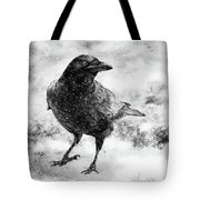 To Know A Crow Tote Bag