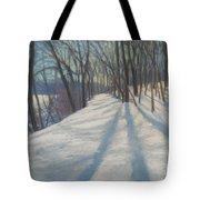 Snow Day At Winnekini Tote Bag
