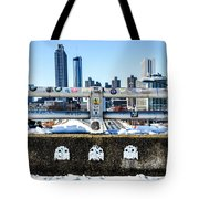 Snow Day In The A Tote Bag