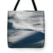 Snow Drift Tote Bag