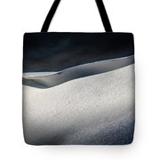 Snow Drift On The Beach Tote Bag