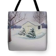Snow Drifts Tote Bag