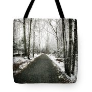 Snow Dust Tote Bag