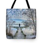Snow Fantasy Tote Bag