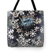Snow Flakery Wreath 1 Tote Bag
