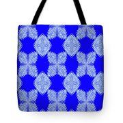 Snow Flakes In May Tote Bag