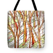 Snow Forest #1 Tote Bag