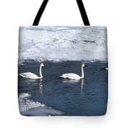 Snow Geese On The Move Tote Bag