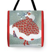 Snow Girl Tote Bag