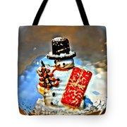 Snow Globe Tote Bag