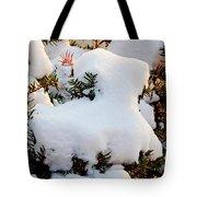 Snow Goat Tote Bag