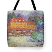 Snow Grove Park Inn Tote Bag