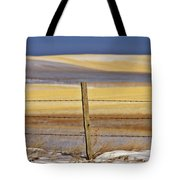 Snow Hills Saskatchewan Tote Bag