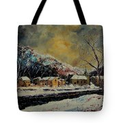 Snow In Bohan Tote Bag