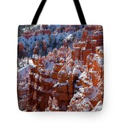 Snow In Bryce Canyon Tote Bag