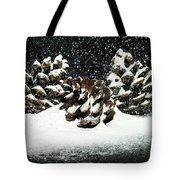 Snow In June Tote Bag
