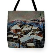 Snow In Laforet 78 Tote Bag