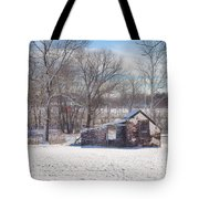 Snow In Plymouth Meeting Tote Bag