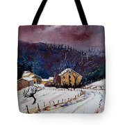 Snow In Sechery Tote Bag
