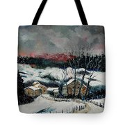 Snow In Sechery Redu Tote Bag