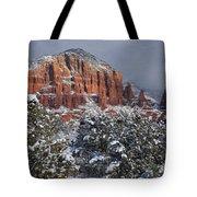 Snow In Sedona  2 Tote Bag