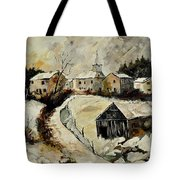 Snow In Sensenruth Tote Bag
