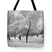 Snow In South Park Tote Bag