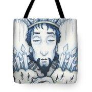 Snow King Slumbers Tote Bag