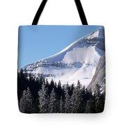 Snow Ledge Tote Bag
