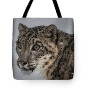 Snow Leopard 2 Tote Bag
