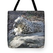 Snow-leopard Tote Bag