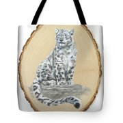 Snow Leopard - Renewed Perception Tote Bag