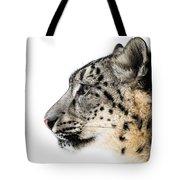 Snow Leopard Xv Tote Bag
