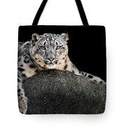 Snow Leopard Xxii Tote Bag