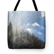 Snow Lift Tote Bag