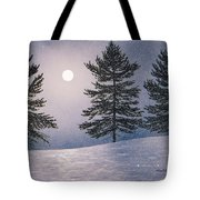 Snow Light Tote Bag