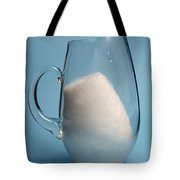 Snow Melting 3 Of 7 Tote Bag
