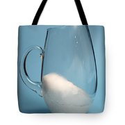 Snow Melting 4 Of 7 Tote Bag
