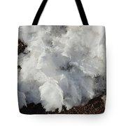 Snow Melting Shapes Tote Bag