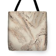 Snow Mountain Ink Painting Tote Bag