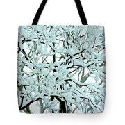 Snow On Branches Tote Bag