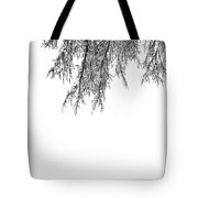 Snow On The Branches Three  Tote Bag