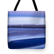 Snow On The Dunes Tote Bag